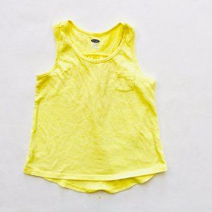 Old Navy Yellow Swing Tank Top